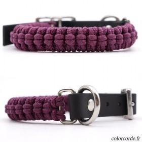 Collier chien en corde