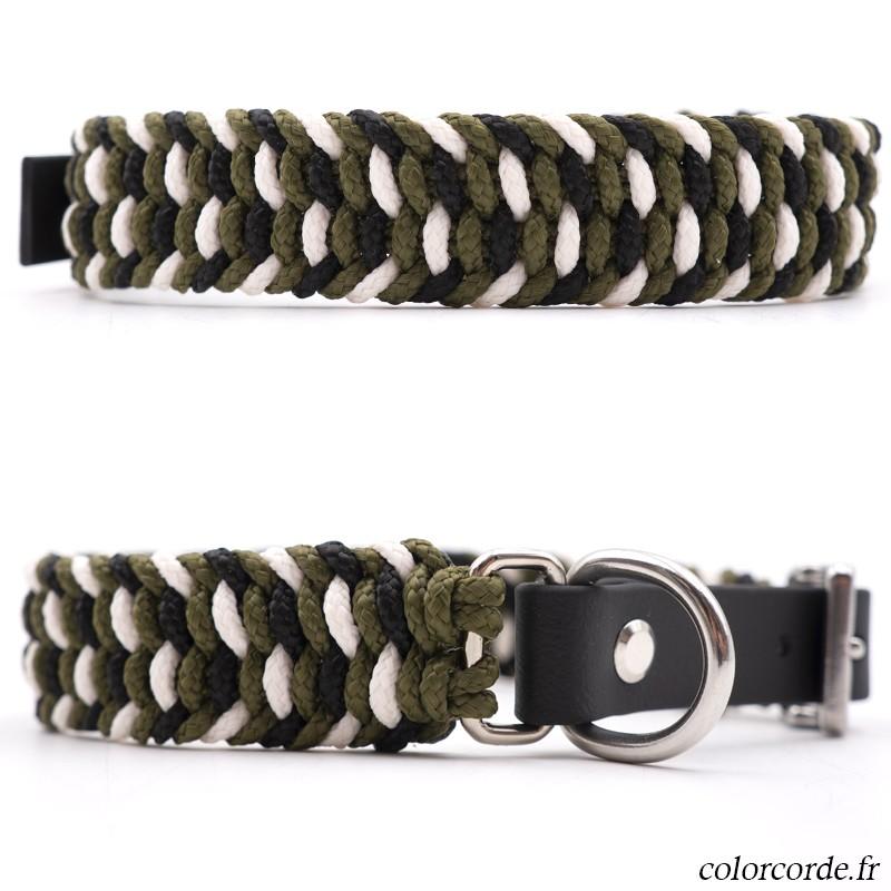 Collier corde pour chien