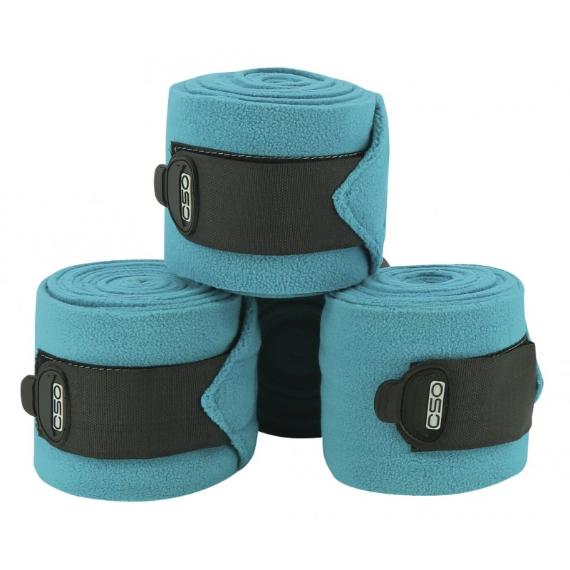 Bandes de polo C.S.O ajustables - Turquoise
