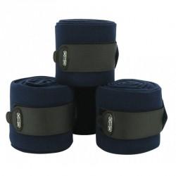 Bandes de polo C.S.O ajustables - Bleu nuit