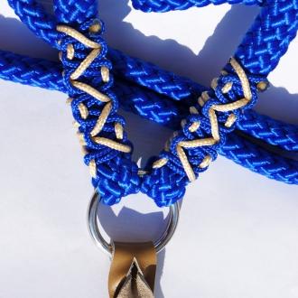 Cordelette bleu